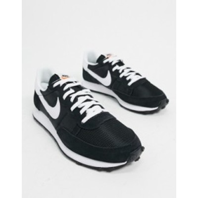 ナイキ メンズ スニーカー シューズ Nike Challenger OG sneakers in black Black