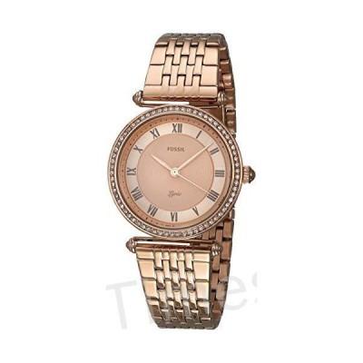 Fossil Women's Lyric ES4711 Rose-Gold Stainless-Steel Japanese Quartz Dress Watch