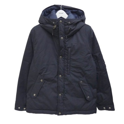 THE NORTH FACE PURPLE LABEL 65/35 Mountain Short Down Parka ダウンジャケット ネイビー サ