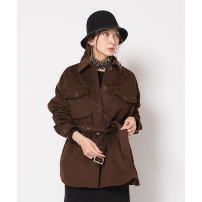 アウター Menifee shirts coat / メニフィーシャツコート