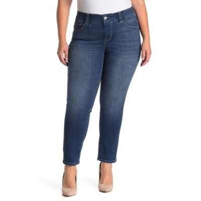 ジャグジーンズ レディース デニムパンツ ボトムス Ruby Straight Leg Jeans (Plus Size) BRILLIANT