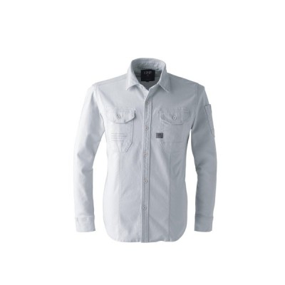 作業服 長袖シャツ アイズフロンティア I'Z FRONTIER ワークシャツ #7901 作業着 通年 秋冬 防護服