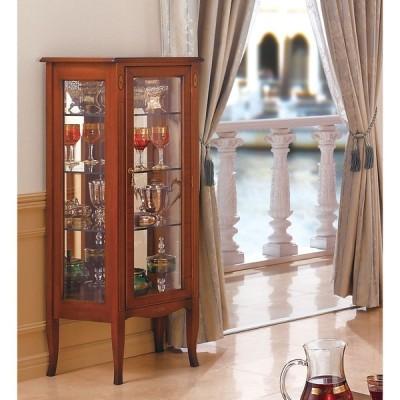 家具 収納 本棚 ラック シェルフ コレクションラック ディスプレイラック ベネチア調象がんシリーズ キュリオケース 587405
