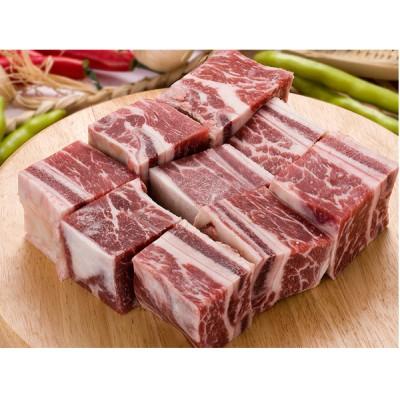*韓国食品*【クール便100】牛カルビタン用、チム用骨付きカルビカット 約1kg [デボラ]
