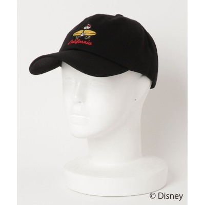 LB/S / 【Disney/ディズニー/ミッキーマウス】キャラクター ワンポイント ローキャップ サーフボード サングラス 刺繍 MEN 帽子 > キャップ