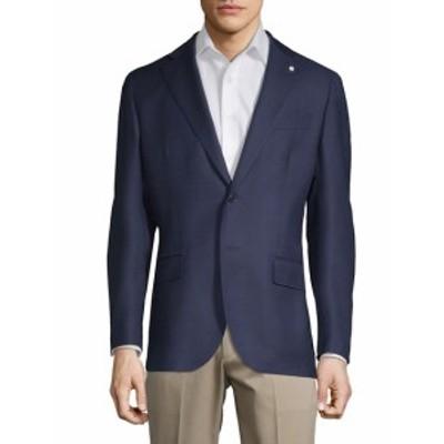ルビアム Men Clothing Mini Check Wool Sportcoat