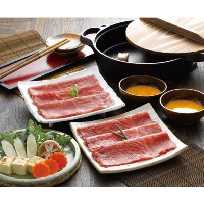 松阪牛とくまもとあか牛のすきやき肉 松阪牛 あか牛 和牛 牛 牛肉 肉 すき焼き すきやき