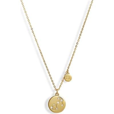 ノードストローム NORDSTROM レディース ネックレス ジュエリー・アクセサリー Zodiac Disc Pendant Necklace Scorpio/Gold