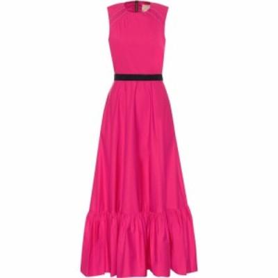 ロクサンダ Roksanda レディース パーティードレス マキシ丈 ワンピース・ドレス Blaise cotton-poplin maxi dress French Pink