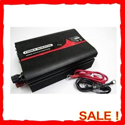 正弦波インバーター 定格300W 12V 60Hz バッテリー接続コード 付き PL保険加入商品