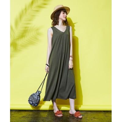 大きいサイズ Aラインワンピース 薄手素材 ,スマイルランド, ワンピース, plus size dress