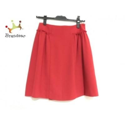 ルビーリベット Rubyrivet スカート サイズ36 S レディース 美品 レッド               スペシャル特価 20200303