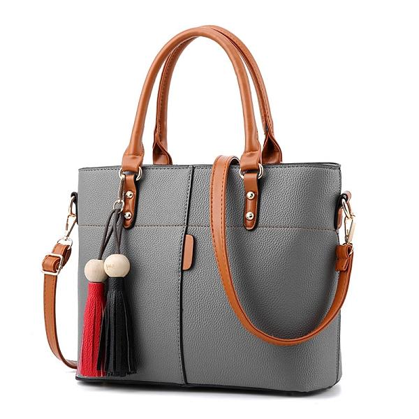 水桶包大氣女士手提包 大容量女生單肩包 時尚手提斜挎包 韓版潮流女包包 女款簡約手提包