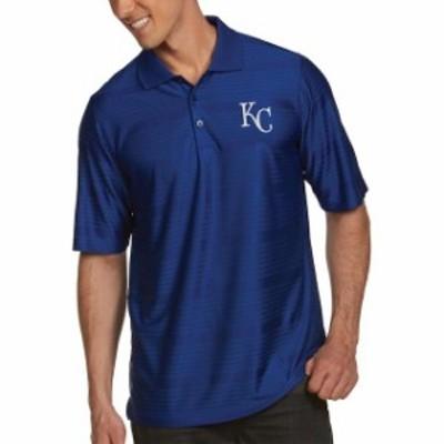 Antigua アンティグア スポーツ用品  Antigua Kansas City Royals Royal Illusion Polo