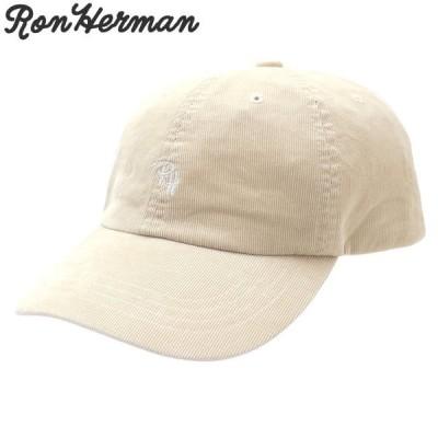 ロンハーマン Ron Herman RH Logo Fine Cord Cap キャップ BEIGE ベージュ 265001418016 ヘッドウェア