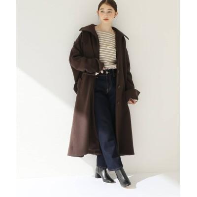 レディース ボイスフロムベイクルーズ 【INHERERNT】Stand Dolman Coat ブラウン 36