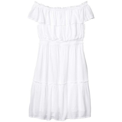 トッミーバハマ レディース ワンピース トップス Caicos Crinkle Off-the-Shoulder Short Dress