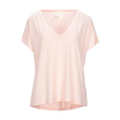 ABSOLUT CASHMERE T シャツ ライトピンク L テンセル 67% / コットン 33% T シャツ