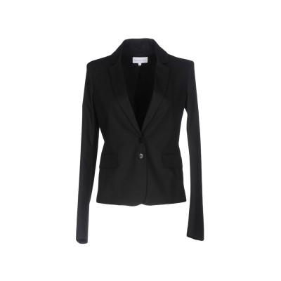 パトリツィア ペペ PATRIZIA PEPE テーラードジャケット ブラック 42 コットン 97% / ポリウレタン 3% テーラードジャケット