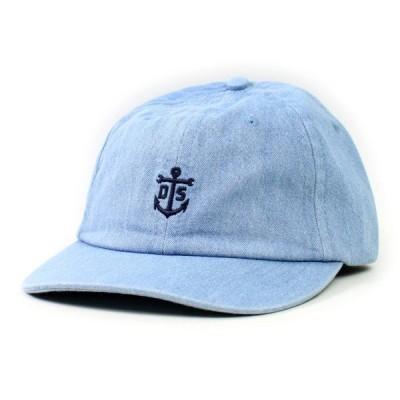 DARK SEAS  SNAPBACK CAP   LEECH  LIGHT DENIM(ブルー)  (ダークシーズ)(キャップ)