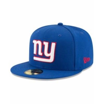 ニューエラ メンズ 帽子 アクセサリー New York Giants Team Basic 59FIFTY Fitted Cap RoyalBlue/RoyalBlue