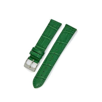 CASSISカシス カーフ 型押し 時計ベルト 裏面防水素材 AVALLON アバロン 17mm グリーン 交換用工具付き X1022238