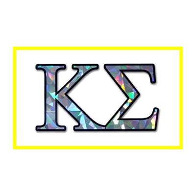 Kappa Sigma Fraternity Reflective Decal ステッカー