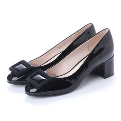 アンタイトル シューズ UNTITLED shoes パンプス (ブラックエナメル)