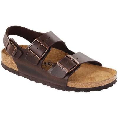 ビルケンシュトック メンズ サンダル シューズ Birkenstock Milano Soft Footbed Sandal