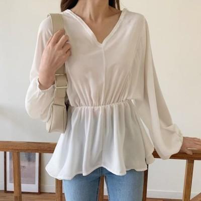 レディース ブラウス Olivia flared blouse