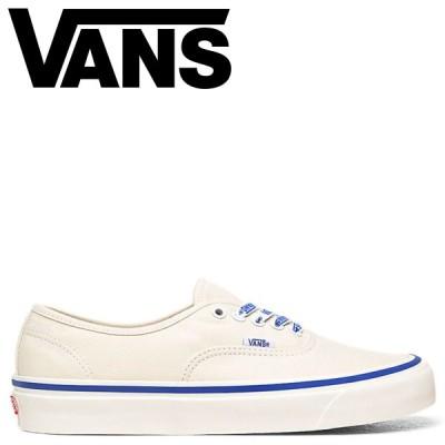 ヴァンズ VANS オーセンティック スニーカー メンズ バンズ AUTHENTIC 44 DX ホワイト 白 VN0A38ENWO9