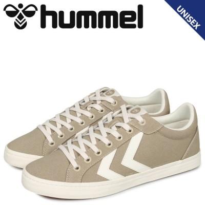 hummel ヒュンメル デュース コート スニーカー メンズ レディース DEUCE COURT ベージュ HM206425-9806