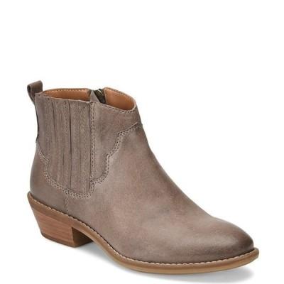 コンフォーティバ レディース ブーツ・レインブーツ シューズ Virden Leather Block Heel Booties