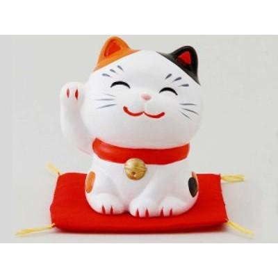 幸せ招き猫 特小 みけ(右手上げ)