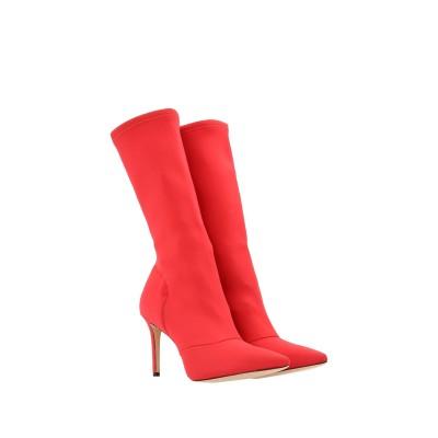 STEPHEN GOOD  London ブーツ レッド 36 紡績繊維 / 指定外繊維(その他伸縮性繊維) ブーツ