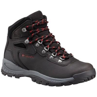 コロンビア Columbia レディース ハイキング・登山 ブーツ シューズ・靴 Newton Ridge Plus Mid Waterproof Hiking Boots Black/Poppy Red