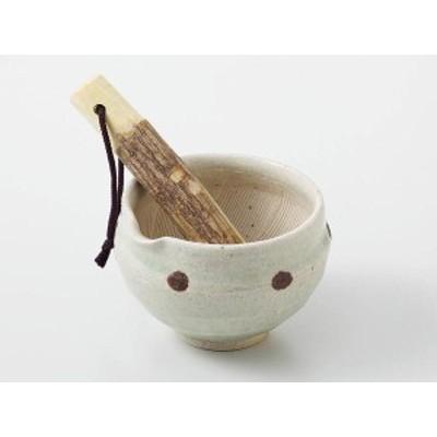ヒワ水玉 すり鉢