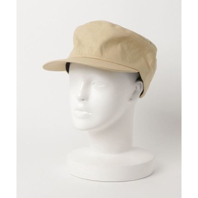 帽子 キャップ 【SI Original】Cotton Linen FVISOR コットンリネンバイザーワークキャップ