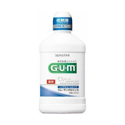 【あわせ買い1999円以上で送料無料】GUM(ガム) 薬用 デンタルリンス ノンアルコールタイプ 250ml