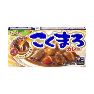 ハウス こくまろカレー 辛口 8皿分 (4皿分×2) 140g