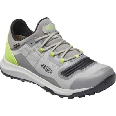 キーン ブーツ&レインブーツ シューズ レディース Tempo Flex Waterproof Hiking Sneaker (Women's) Drizzle/Sharp Green