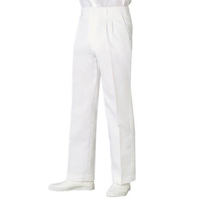 住商モンブラン パンツ(メンズ) 医療白衣 白 LL 52-831(直送品)