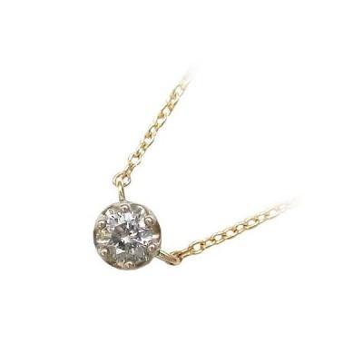 Brand Jewelry me.K10ゴールド ダイヤモンド ペンダント ネックレス【今だけ代引手数料無料】