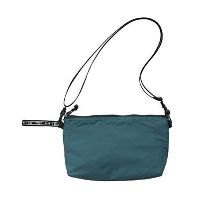 レップ サコッシュ グリーン 幅40×奥行30cm ペットボトルが入る バッグ おしゃれ (保冷/保温) D.1127