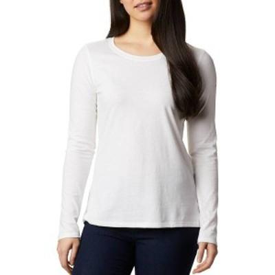 コロンビア レディース シャツ トップス Columbia Women's Solar Shield Long Sleeve Shirt White