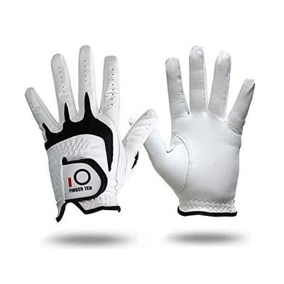 ゴルフ グローブ 天然羊革 全天候型 左手用 メンズ ゴルフ 手袋 柔らかい快適 WeatherSof 23 24 25 26 27 (日本用26,