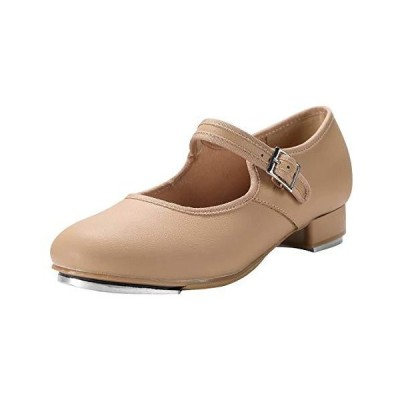 Linodes Unisex PU Leather Easy Strap Tap Shoe Dance Shoes for Women and Men