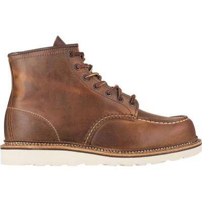 レッドウイング メンズ ブーツ・レインブーツ シューズ Classic 6in Moc Boot