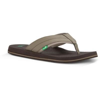 サヌーク Sanuk メンズ サンダル シューズ・靴 Beer Cozy 2 Sandals Brindle