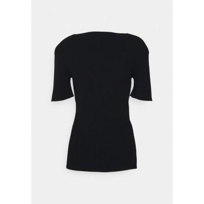アーケット Tシャツ レディース トップス Basic T-shirt - black
